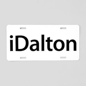 iDalton Aluminum License Plate