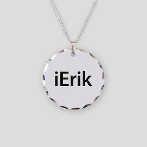 iErik Necklace Circle Charm