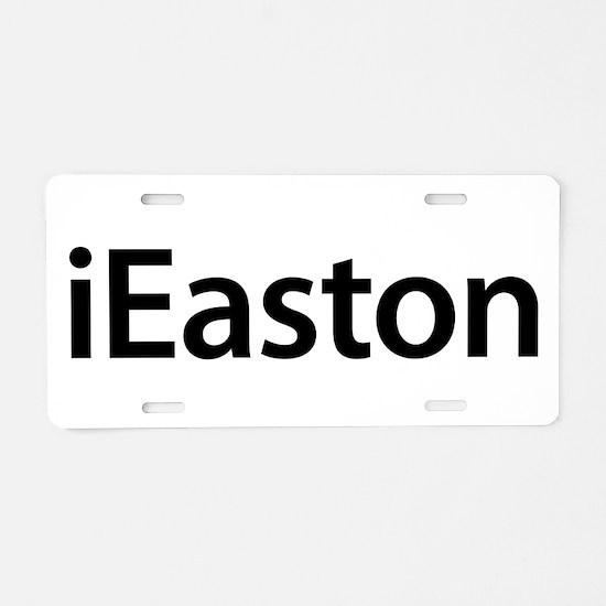 iEaston Aluminum License Plate