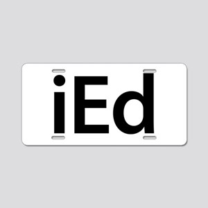 iEd Aluminum License Plate