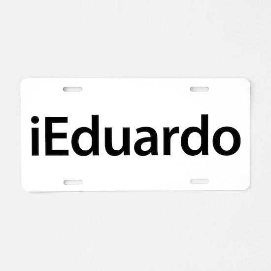 iEduardo Aluminum License Plate