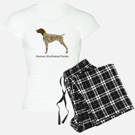Liver & White GSP Pajamas