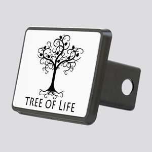 Tree of Life Rectangular Hitch Cover