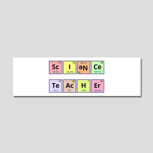 Science Teacher Car Magnet 10 x 3