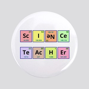 "Science Teacher 3.5"" Button"