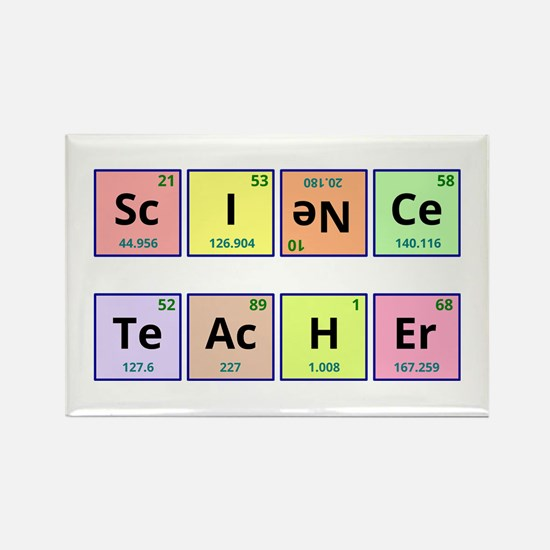 Gifts for chemistry science teacher periodic table elements science teacher rectangle magnet urtaz Choice Image