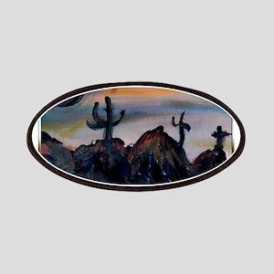 Desert, southwest landscape, art, Patches