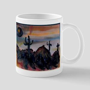 Desert, southwest landscape, art, Mug