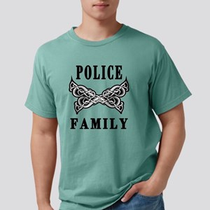 Police Family Mens Comfort Colors Shirt