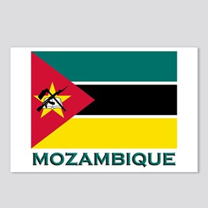 Mozambique Flag Merchandise Postcards (Package of