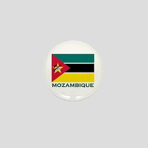 Mozambique Flag Merchandise Mini Button
