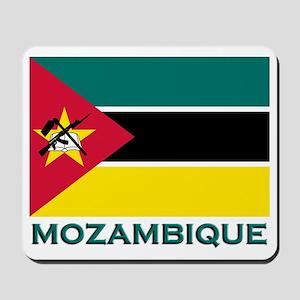 Mozambique Flag Merchandise Mousepad