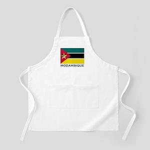 Mozambique Flag Merchandise BBQ Apron