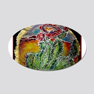 Cactus! Colorful southwest art!, Prickly Pear! 20x