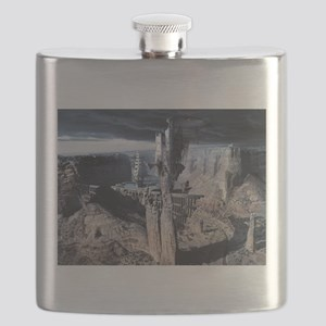 White Castle or Voluntary Incarceration Flask