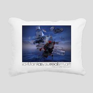 Alternative Sky-rover Rectangular Canvas Pillow