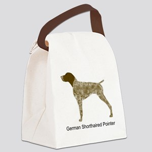 Liver & White GSP Canvas Lunch Bag
