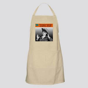 You can get by on your charm... Apron