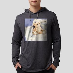Lonely Teddy Cushion Mens Hooded Shirt