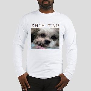 Shih Tzu Art Long Sleeve T-Shirt