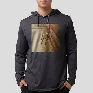 leaninggoat Mens Hooded Shirt
