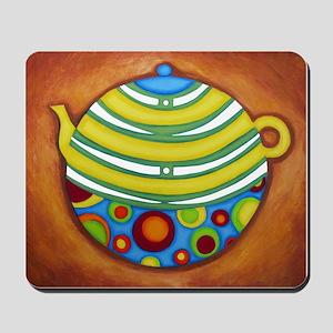 Yellow Teapot Mousepad