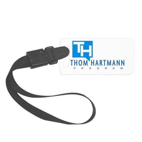 Thom Hartmann Logo Small Luggage Tag