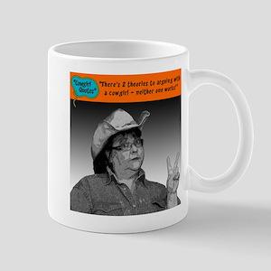 There's 2 theories... Mug