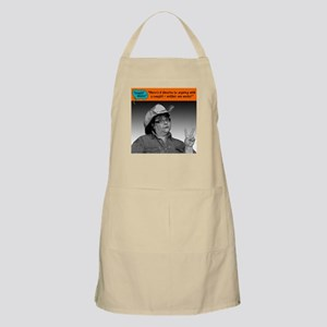 There's 2 theories... Apron