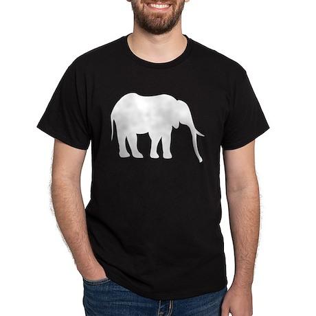 Elephant (Silhouette) Black T-Shirt