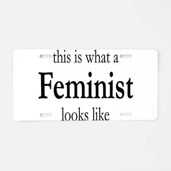 Funny Gender Aluminum License Plate