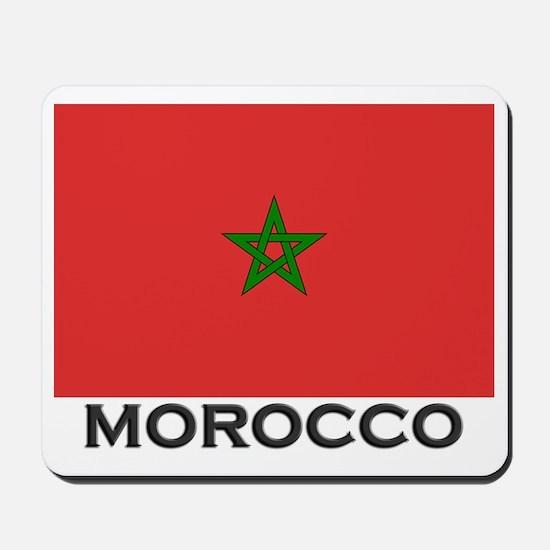 Morocco Flag Stuff Mousepad