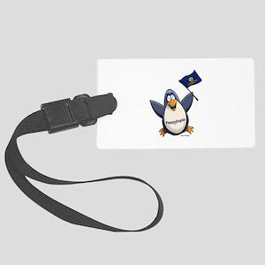 Pennsylvania Penguin Large Luggage Tag