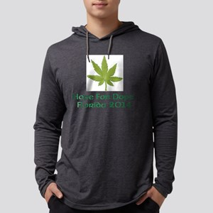 Hope for Dope Campaign Mens Hooded Shirt