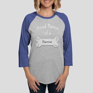HarrierParentdark Womens Baseball Tee