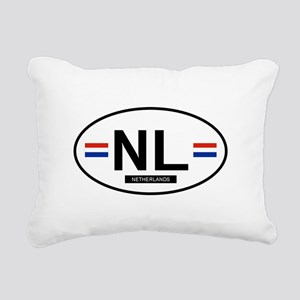 NETHERLANDS Rectangular Canvas Pillow