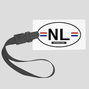 NETHERLANDS Large Luggage Tag