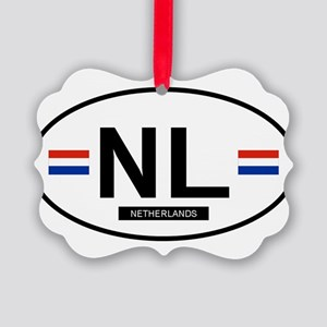 NETHERLANDS Picture Ornament