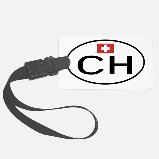 CH Switzerland.png Luggage Tag