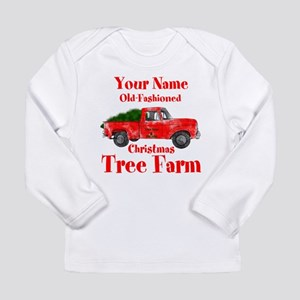 Custom Tree Farm Long Sleeve Infant T-Shirt