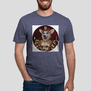 nicolashilliard-queenelizab Mens Tri-blend T-Shirt