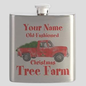 Custom Tree Farm Flask