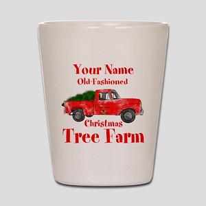 Custom Tree Farm Shot Glass
