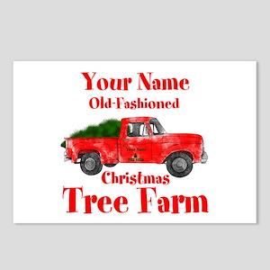 Custom Tree Farm Postcards (Package of 8)