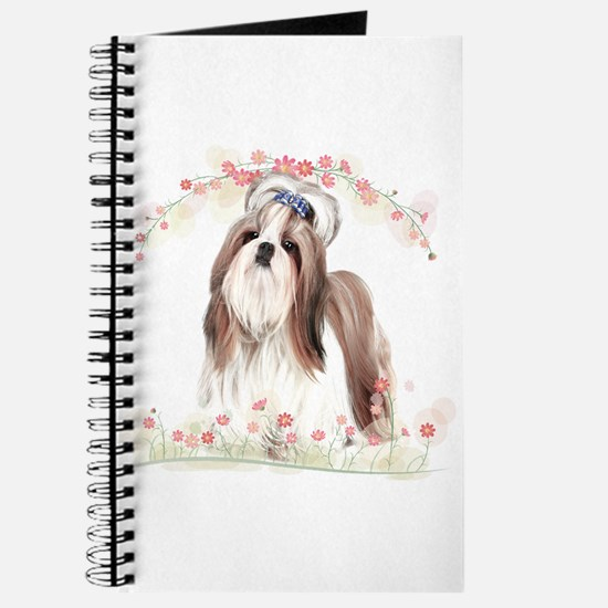 Shih Tzu Flowers Journal