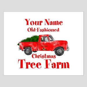 Custom Tree Farm Small Poster