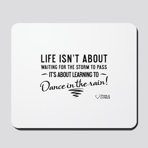 Life isn't about - Mousepad
