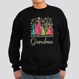 Grandma Christmas Sweatshirt (dark)