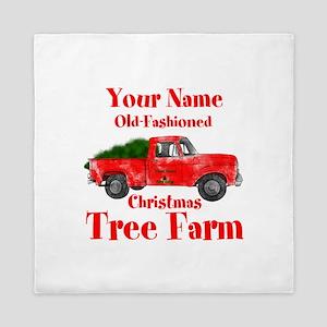 Custom Tree Farm Queen Duvet