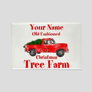 Custom Tree Farm Rectangle Magnet